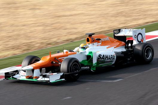 Luiz Razia - Force India - Magny-Cours