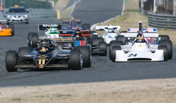La magia de la F1 Histórica reaparece en el Jarama