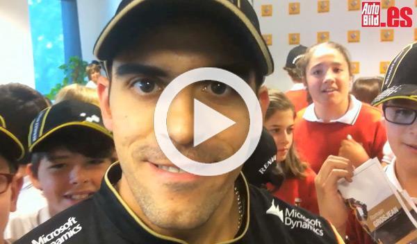 Maldonado Lotus Renault en Madrid