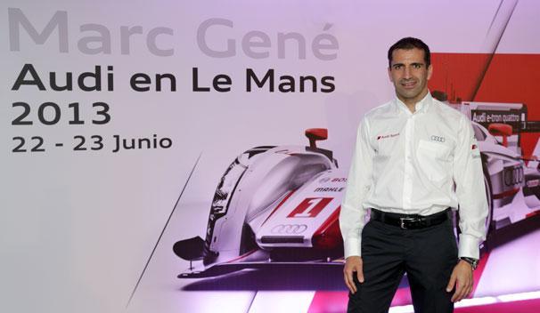 Marc Gene - Audi - Le Mans - 2013