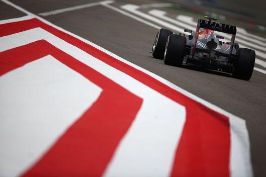 Mark Webber Red Bull Bahrein 2013