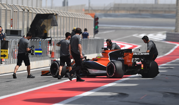 McLaren-Honda probará mejoras en los test de Bahréin