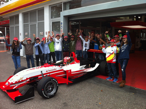 Moises Soriano - Ferrari Driver Academy - Fiorano