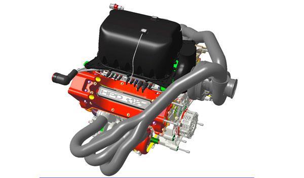 Motor Honda V6 turbo