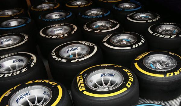 Neumaticos Pirelli GP India