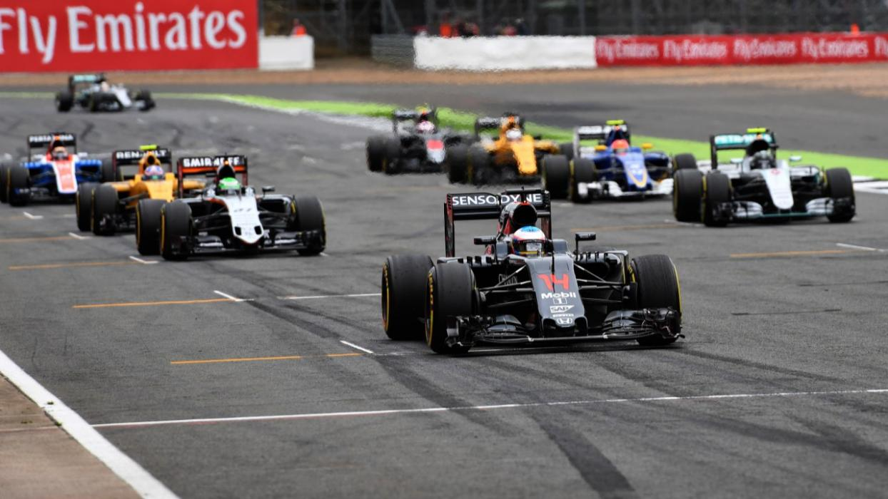 Parrilla GP F1 Silverstone