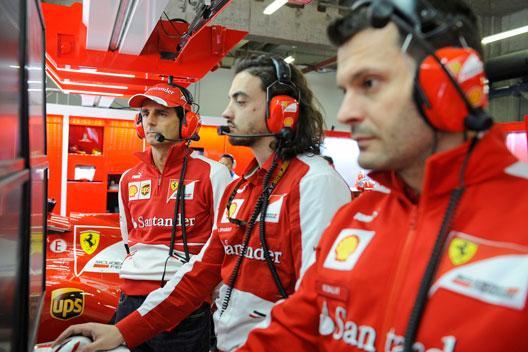 Pedro de la Rosa - Ferrari - 2013