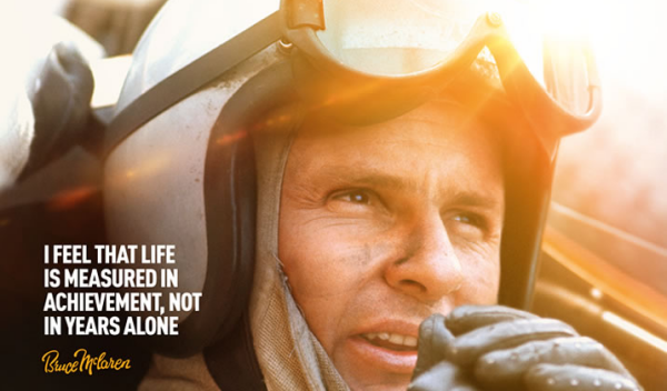 La película sobre McLaren se estrenará en España el 7 junio