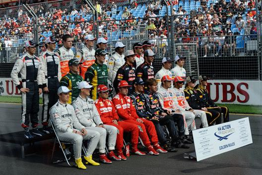 Pilotos F1 2012