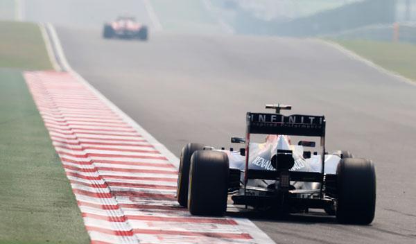 Prevision tiempo GP India 2013