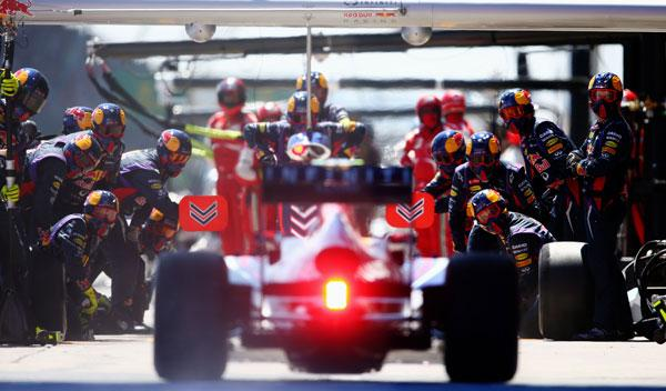 Red Bull - box - Alemania 2013