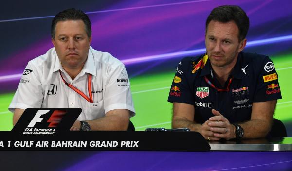 La ridícula lucha entre McLaren y Red Bull fuera de pista