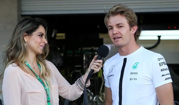 """Rosberg: """"el problema es que Hamilton pilota muy bien"""""""