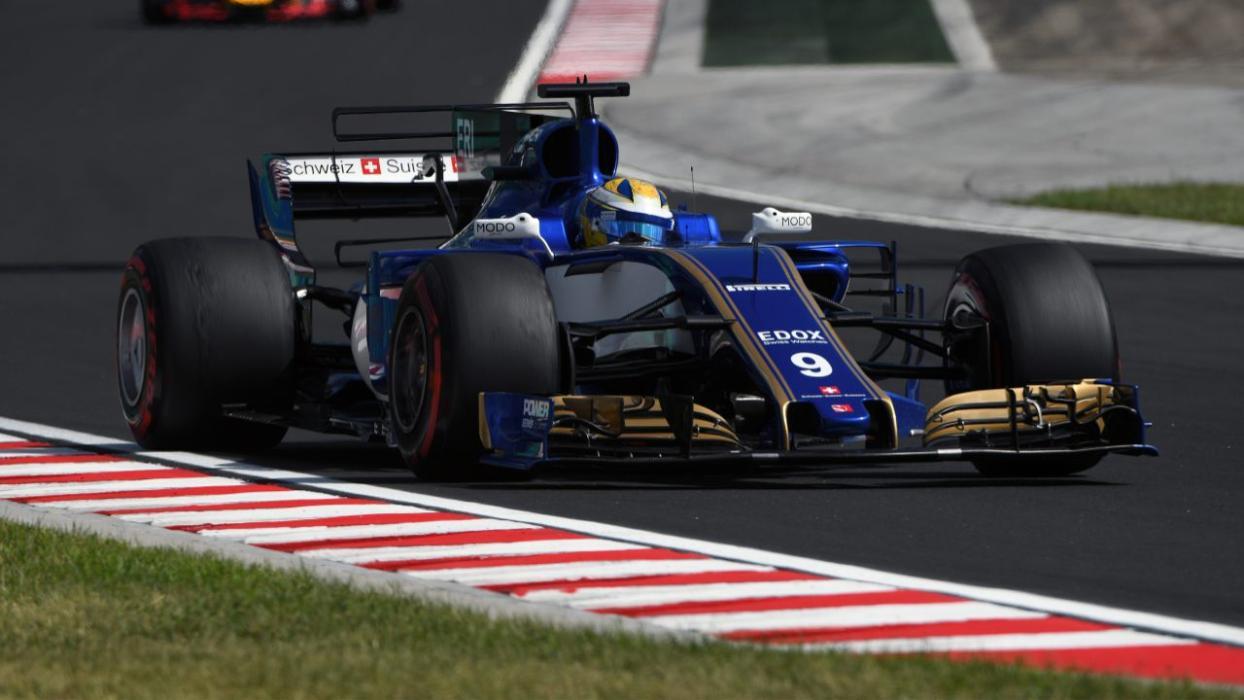 Sauber, en los entrenamientos del GP Hungría