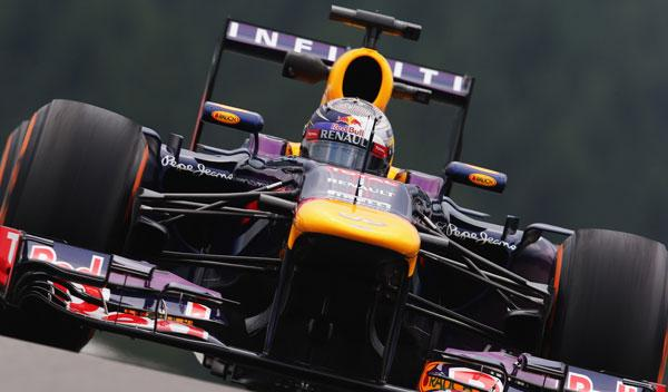 Sebastian Vettel - Red Bull - Bélgica 2013