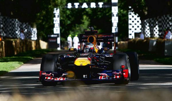 Sebastian Vettel - Red Bull - Goodwood
