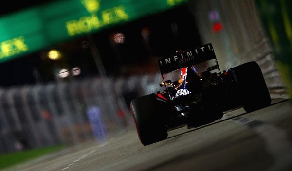 Sebastian vettel - Red Bull - Singapur