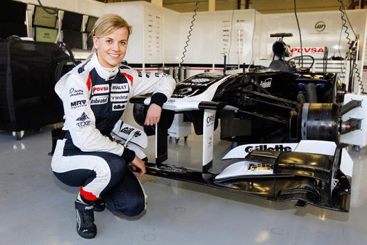 Susie Wolff - Williams - Silverstone - 2012