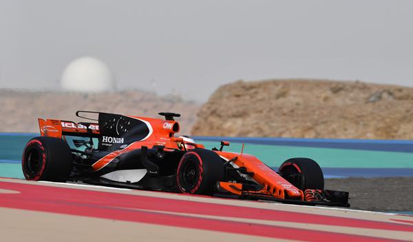 Test Bahréin F1: McLaren da el mayor paso adelante de 2017