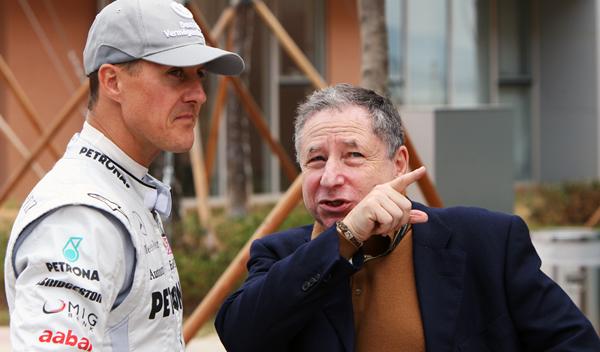 "Todt: ""veo a Schumacher a menudo, sigue luchando"""