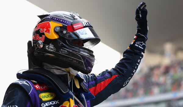 Vettel - Red Bull - GP India