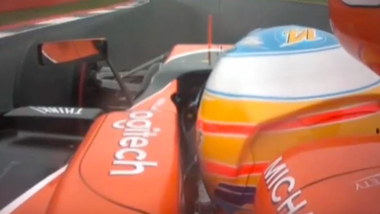 Vueltas de Fernando Alonso en el GP de Gran Bretaña