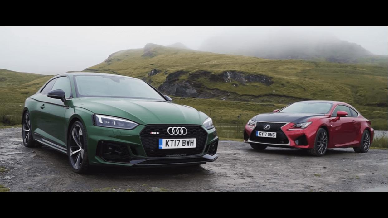 Audi RS5 2017 vs Lexus RC F