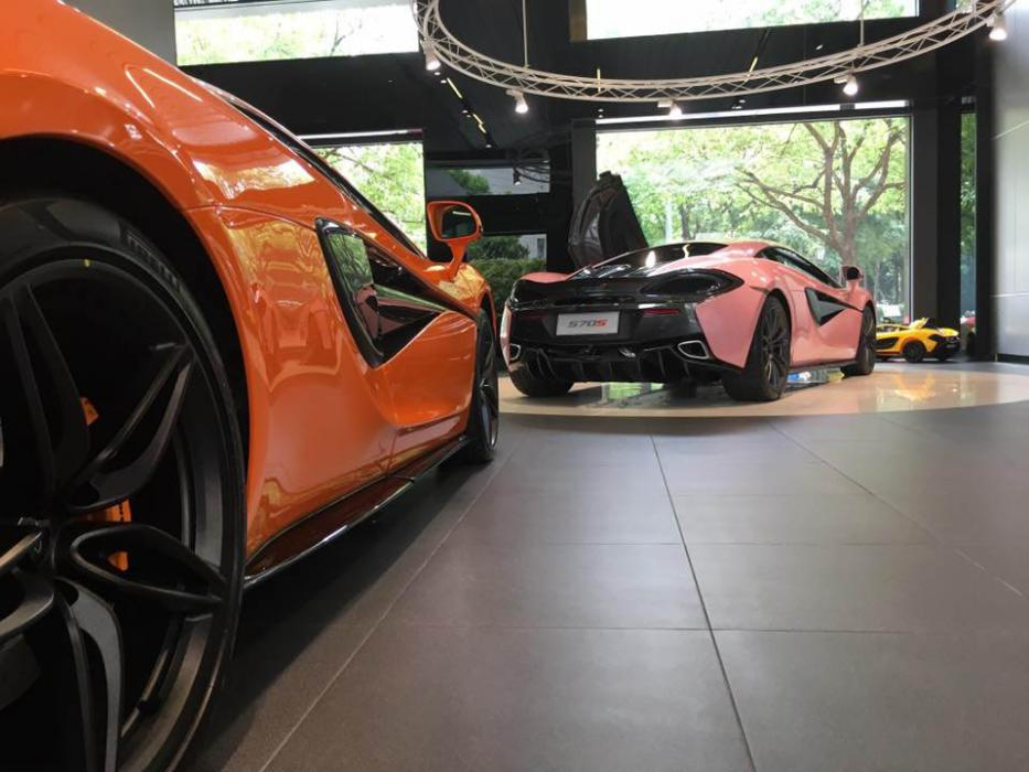 McLaren 570S rosa