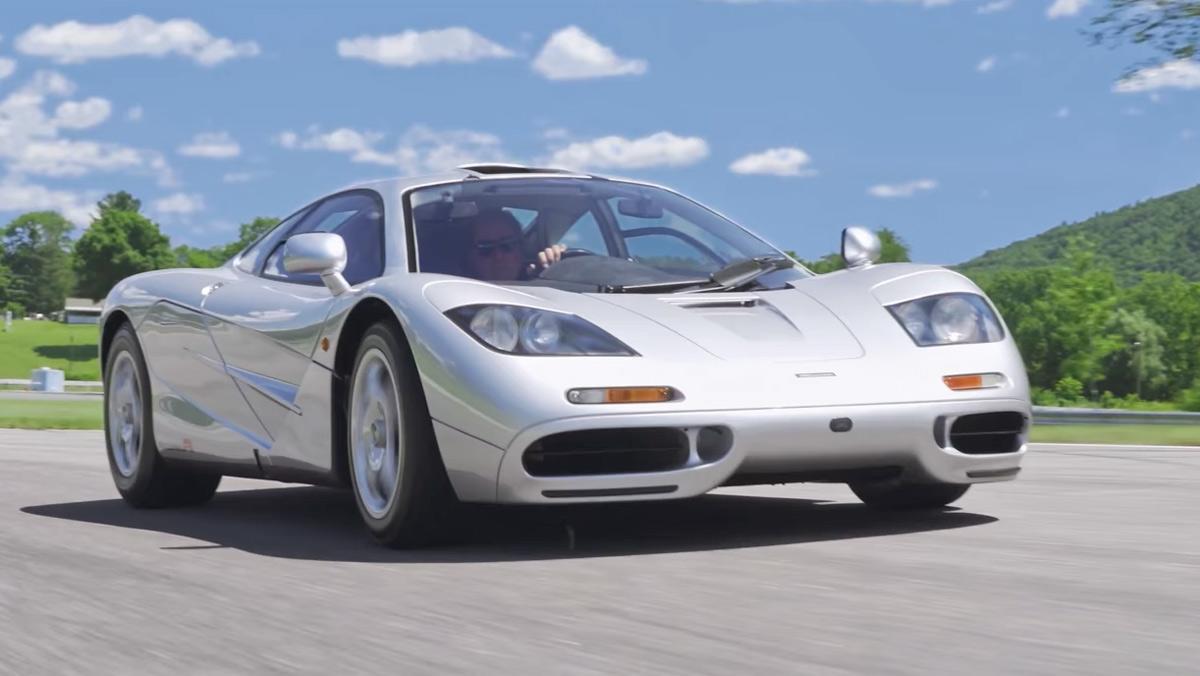 McLaren F1 estadounidense, récord en subasta (I)