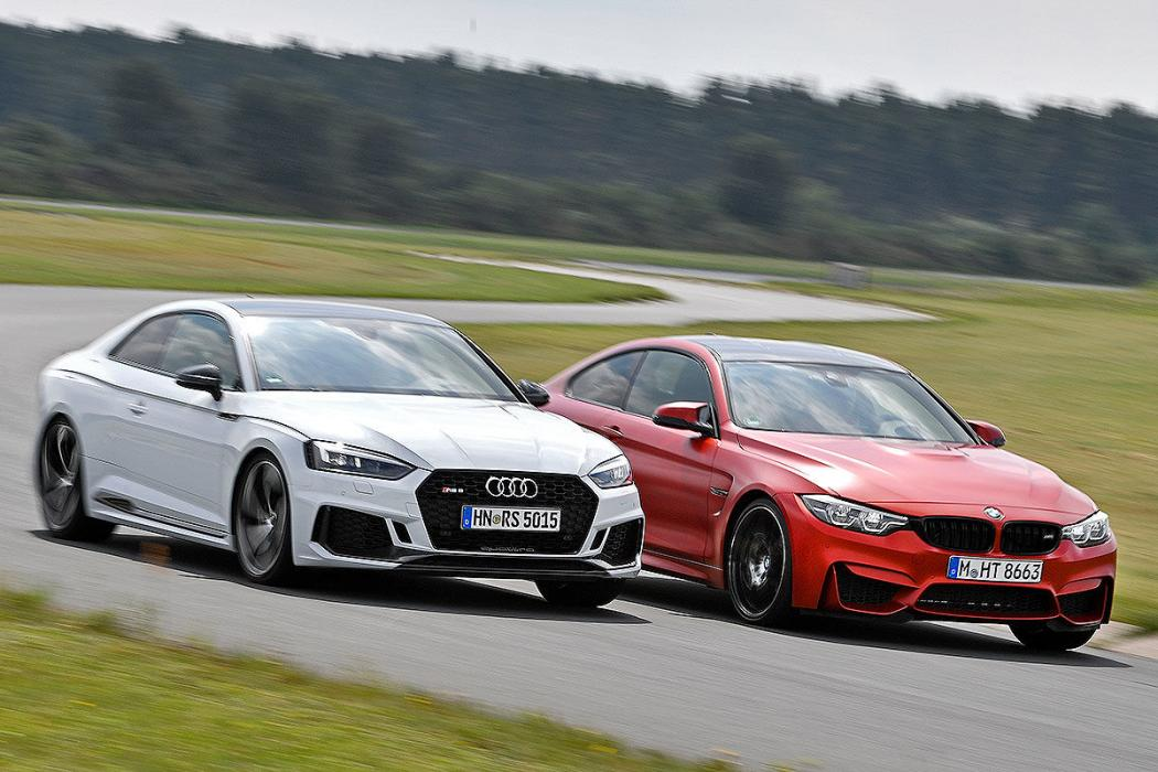 Audi RS 5/BMW M4 Competition
