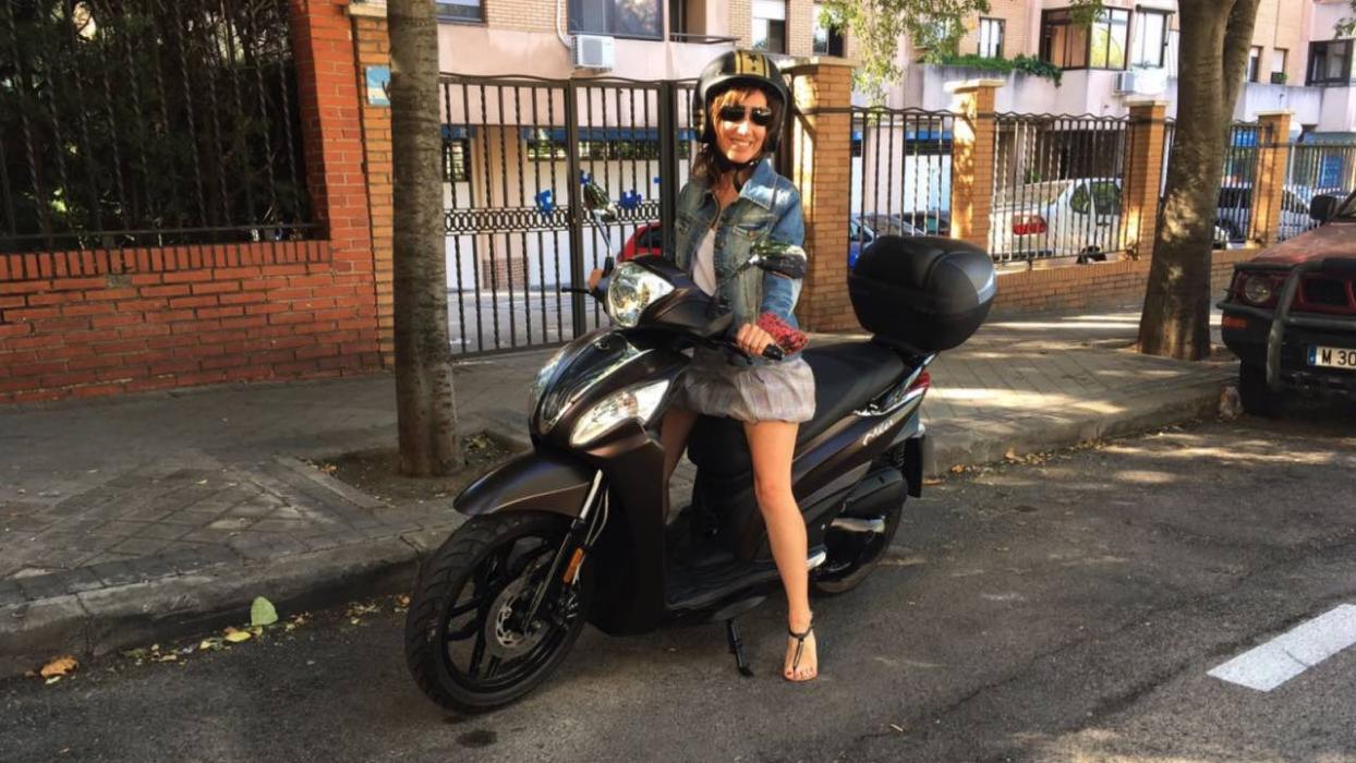 Motos para mujeres.