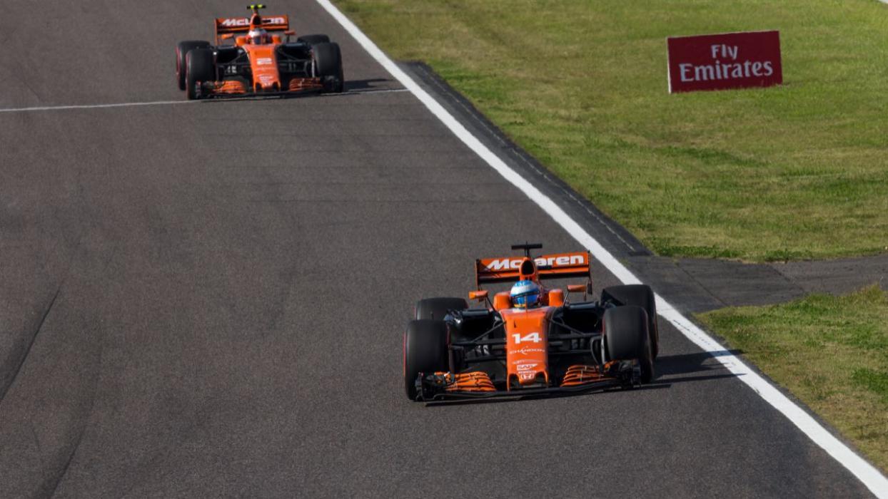 Alonso en el GP Japón