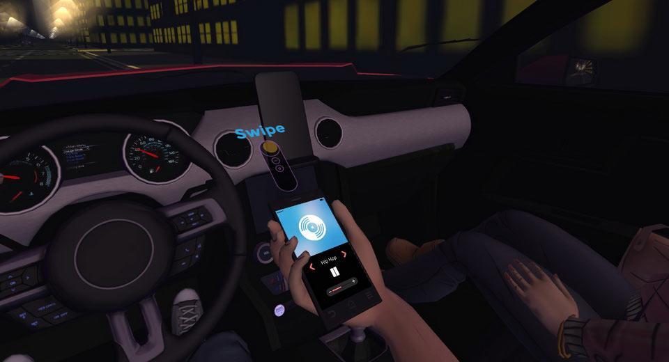 La app de realidad virtual de Google y Ford