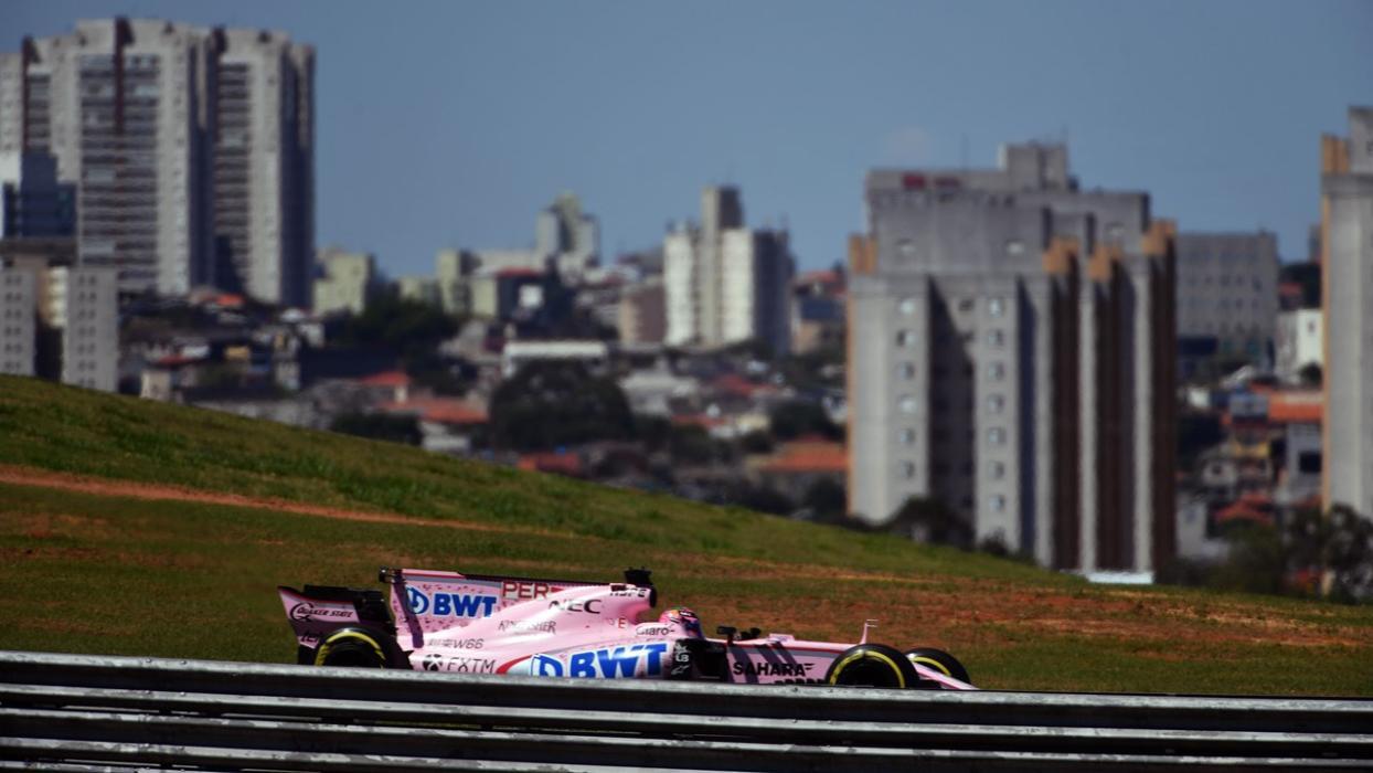 Force India en Brasil