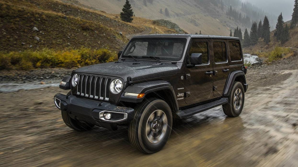 jeep wrangler 2018 en el sal n de los ngeles 2017. Black Bedroom Furniture Sets. Home Design Ideas