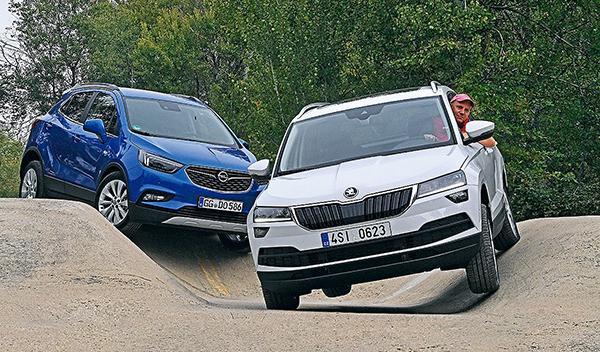 Opel Mokka X vs Skoda Karoq