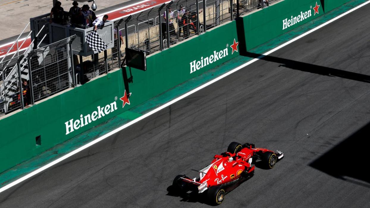 Vettel gana el GP Brasil 2017