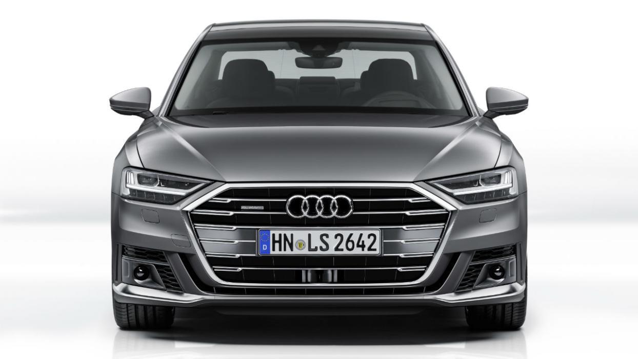 Audi A8 con el paquete exterior deportivo