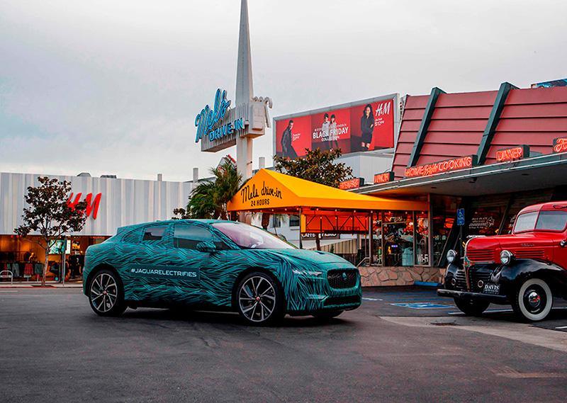 Jaguar i-Pace prueba autonomí