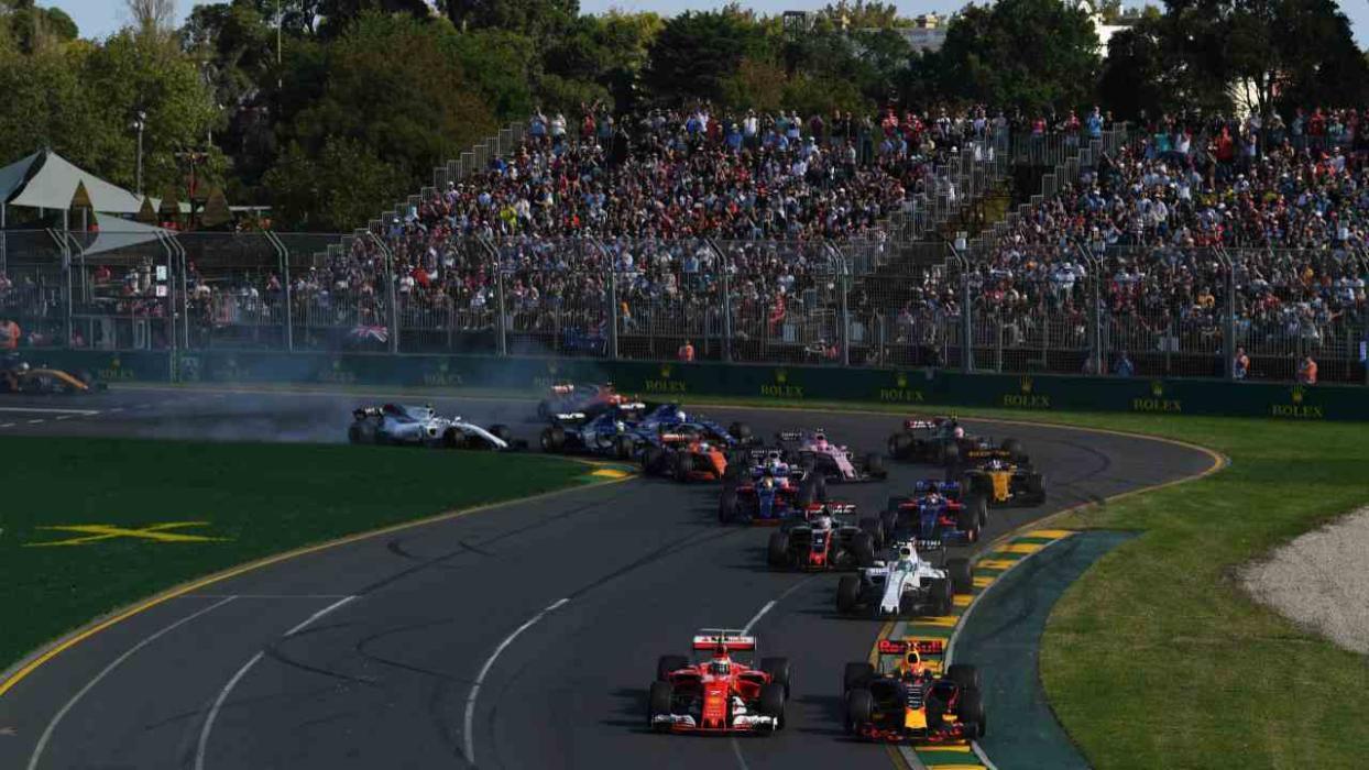 Salida GP Australia 2017