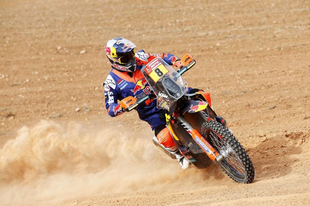Toby Price - Favorito Dakar 2018 motos