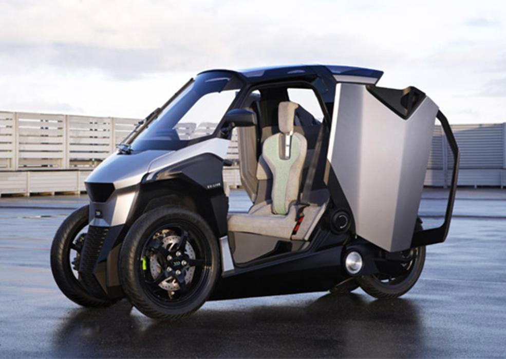 Triciclo eléctrico Peugeot