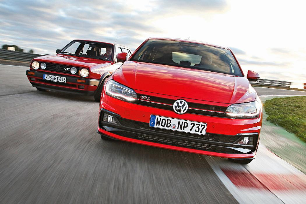 VW Golf II GTI 16v vs Polo GTI