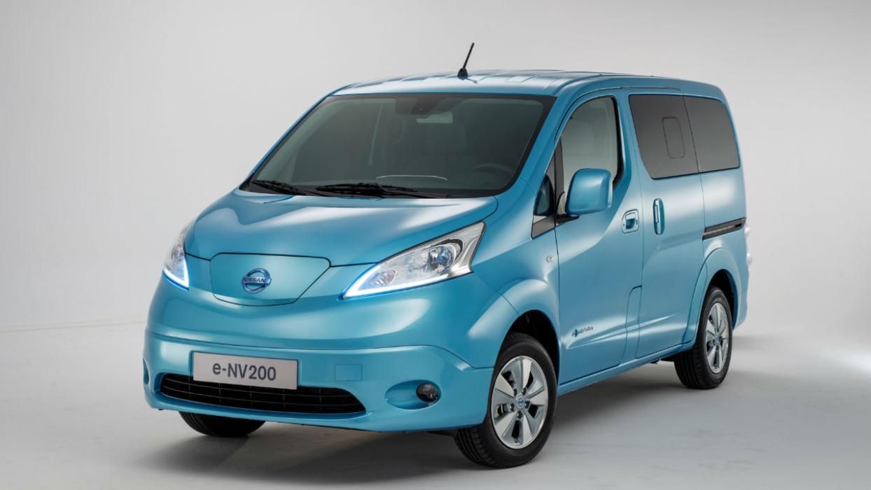 Los eléctricos más vendidos en 2017: Nissan NV200- 330 unidades