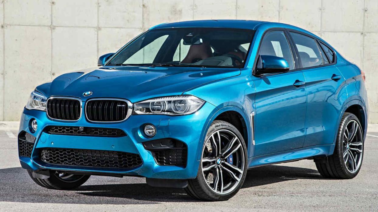 Los SUV que más consumen BMW X6 M