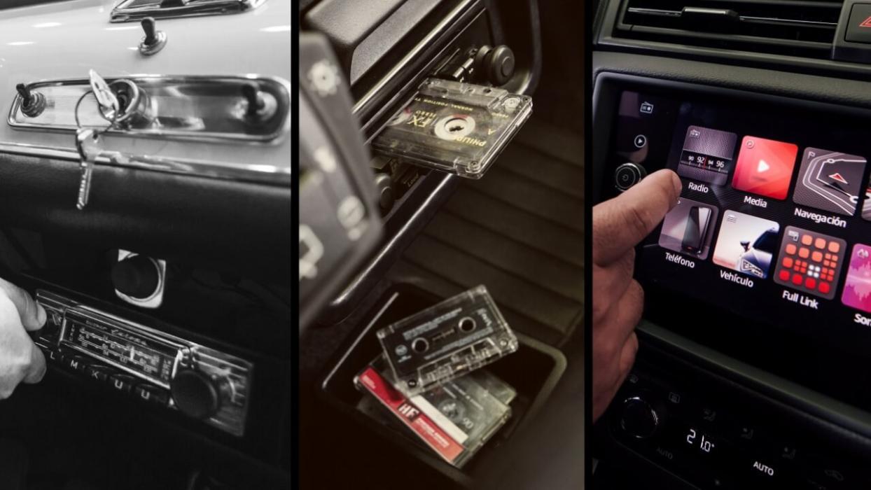 Evolución radio