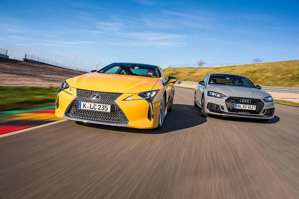Audi RS 5 vs Lexus LC 500