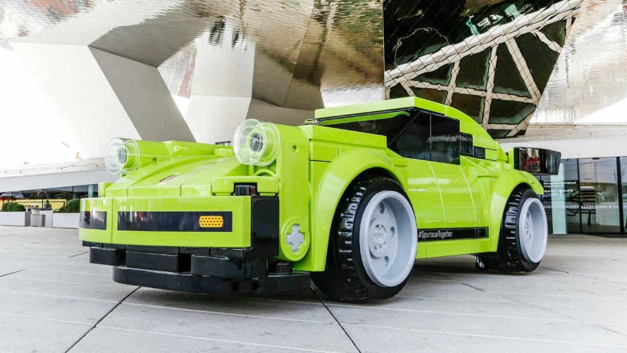 Porsche 911 Turbo de Lego