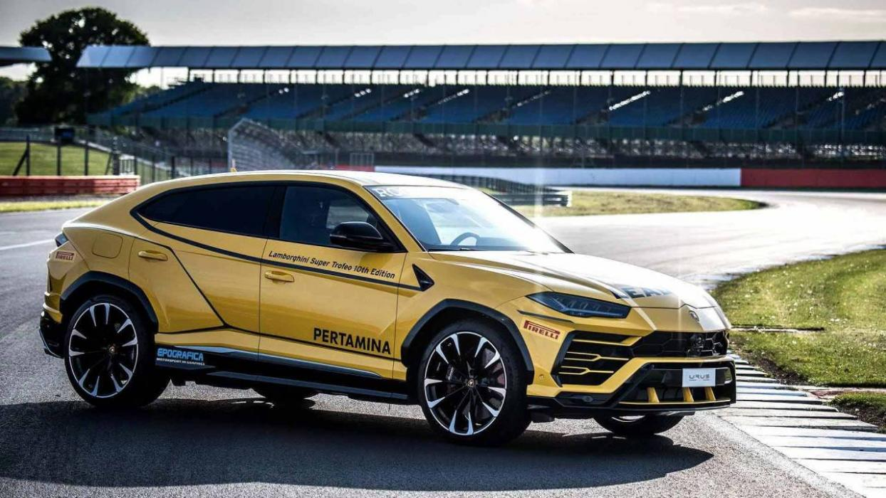 hot sale online 01225 0a9b0 Lamborghini Urus Pace Car