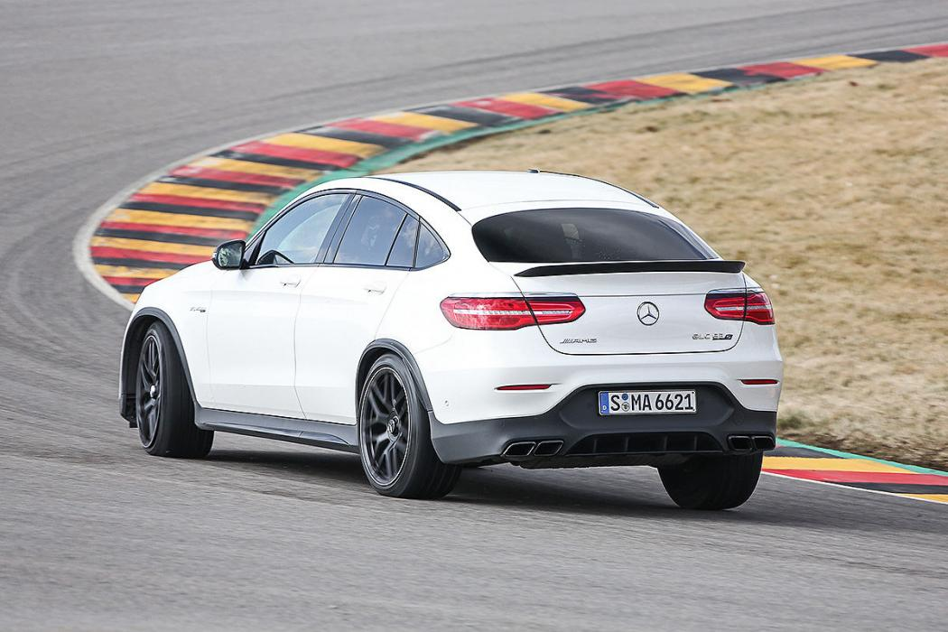 Prueba del Mercedes AMG GLC 63S Coupé